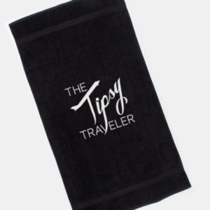 Tipsy Traveler Towel
