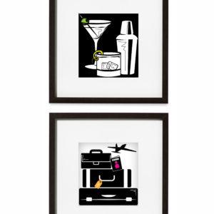 Tipsy Traveler Graphic Prints