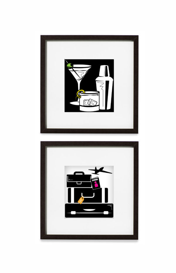 Tipsy Traveler Graphic Prints