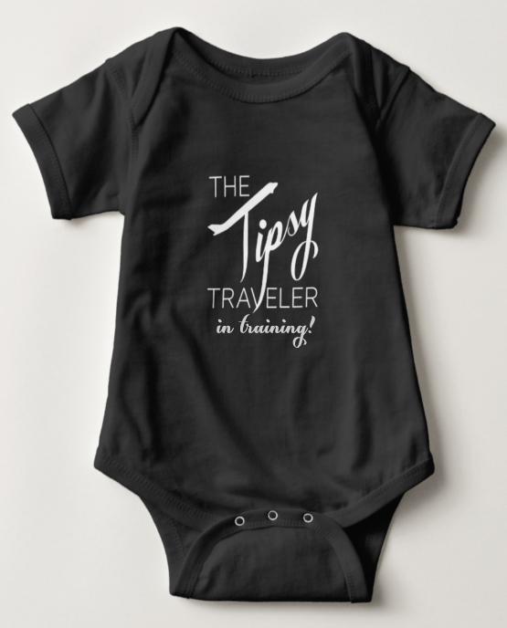 Tipsy Traveler Onesie