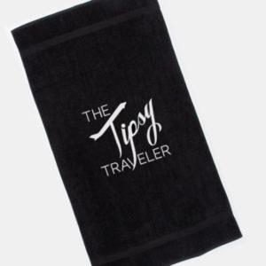 Tipsy Traveler Towel